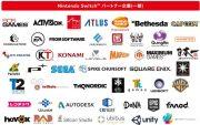 Nintendo Switchのパートナー企業は?