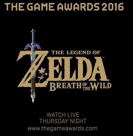 「ゼルダの伝説 ブレス オブ ザ ワイルド」の独占映像が12月1日開催のThe Game Awards 2016で公開