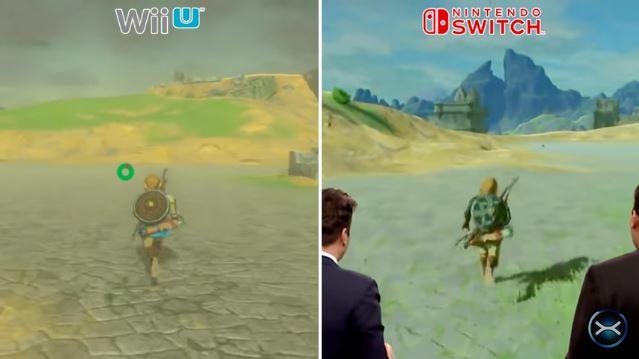 「ゼルダの伝説 ブレス オブ ザ ワイルド」のWiiU版とNintendo Switch版の比較映像が公開