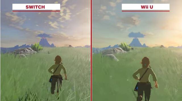 『ゼルダの伝説 ブレス オブ ザ ワイルド』 スイッチ版&WiiU版の比較動画が公開