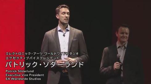 EAのパトリック・ソダーランド氏「『FIFA』以外にもどんどんゲームを出していく」