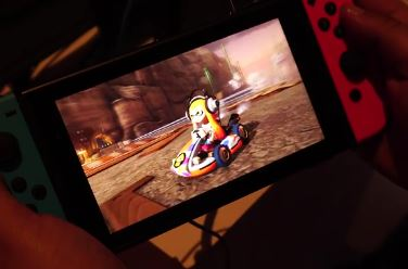 『Nintendo Switch』 携帯モードの実機プレイ映像