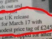 スイッチの価格は245ポンド(約3万4500円)で3月17日発売? UKのニュースペーパーMetroに掲載