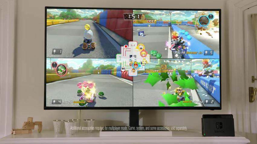 米Nintendoが「Nintendo Switch」のテレビCM2種類を2月14日に公開