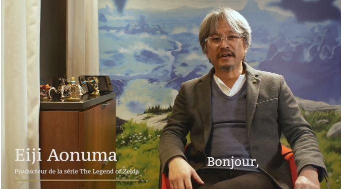 Nintendo Franceによる青沼英二さんへのインタビュー動画が2月1日に掲載 「今回リンクはどこでも高い所に登ることができる。」