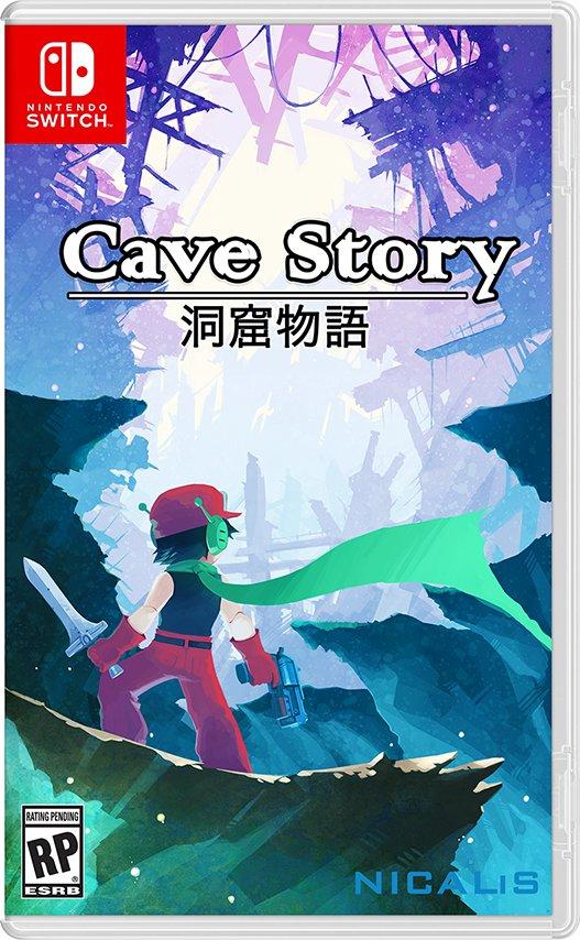 Nintendo Switch版『洞窟物語』の発売が決定!