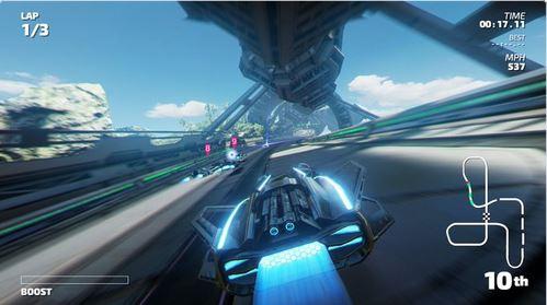 F-ZERO、ワイプアウト風の近未来レースゲーム『Fast RMX』が3月3日に米国で配信