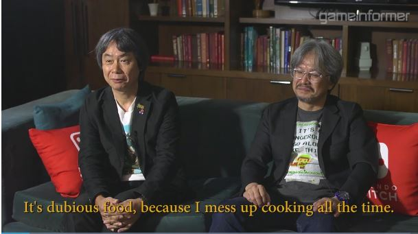 Game Informerによる青沼英二さん&宮本茂さんへのインタビュー動画が2月8日に公開 【その1】