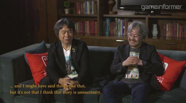 Game Informerによる青沼英二さん&宮本茂さんへのインタビュー動画が2月15日に公開 【その2】