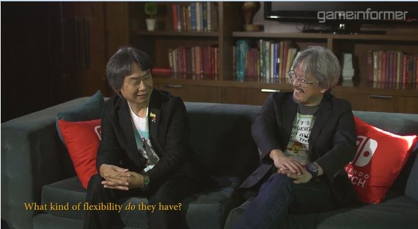 Game Informerによる青沼英二さん&宮本茂さんへのインタビュー動画が2月28日に公開 【その4】