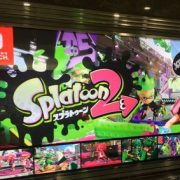 東京の駅に「ニンテンドースイッチ」の看板広告が登場