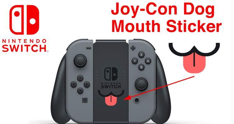 キュートな『Joy-Con Dog(犬)のステッカー』がKickStarterに登場! Joy-Conグリップにピタッと貼ることができます。