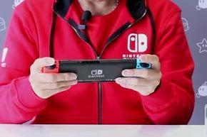Nintendo UKの柴田聡社長による「ニンテンドースイッチ」開封の儀が公開