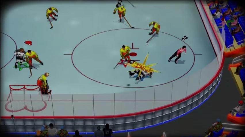 スイッチでも発売予定。 アイスホッケーゲーム『Old Time Hockey』の最新トレイラーが公開。