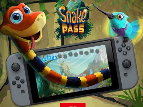 3Dアクションパズルゲーム『Snake Pass』がニンテンドースイッチでも発売決定!