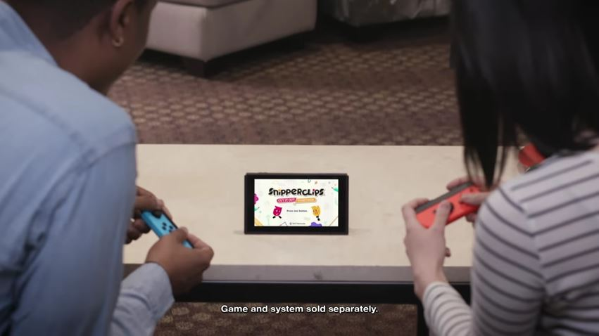 『いっしょにチョキッと スニッパーズ』のプロモーションビデオを米任天堂が公開