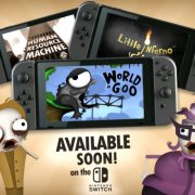 『World of Goo』『Little Inferno』『Human Resource Machine』が海外で3月3日に発売。 スイッチ版には『Soundtrack Mode』も収録