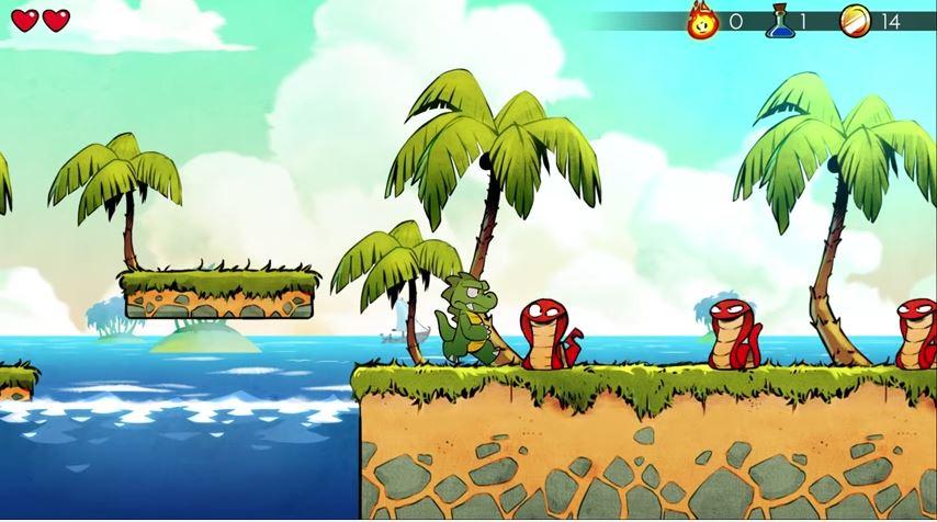 ニンテンドースイッチでリリースされる『Wonder Boy: The Dragon's Trap』のゲームプレイ映像が公開