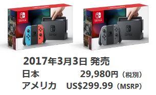 Joshin Webで7月3日~4日にNintendo Switchの抽選販売が実地中!