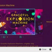 『Graceful Explosion Machine』の海外配信日が2017年4月6日に決定