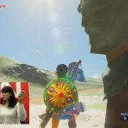 『ゼルダの伝説 ブレス オブ ザ ワイルド』をJoy-Conを分け合って2人でプレイ