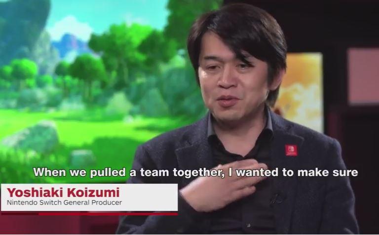 任天堂の小泉歓晃氏、高橋伸也氏への動画インタビューが2月28日に公開