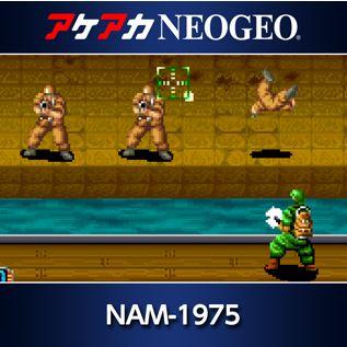 Nintendo Switch用『アケアカNEOGEO NAM-1975』が3月9日に配信決定!
