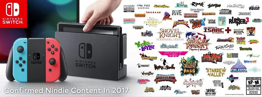 Nintendo Switch向けのインディータイトルを米任天堂が大量に発表! 画像や動画をまとめて紹介