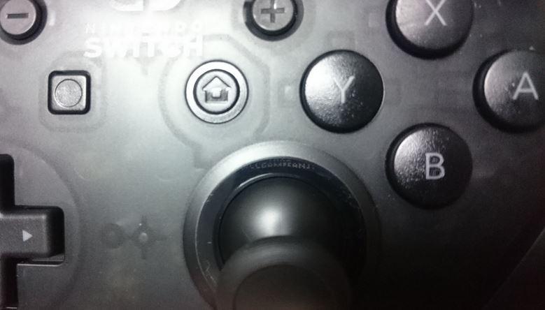 『Nintendo Switch Proコントローラー』に隠されたメッセージ