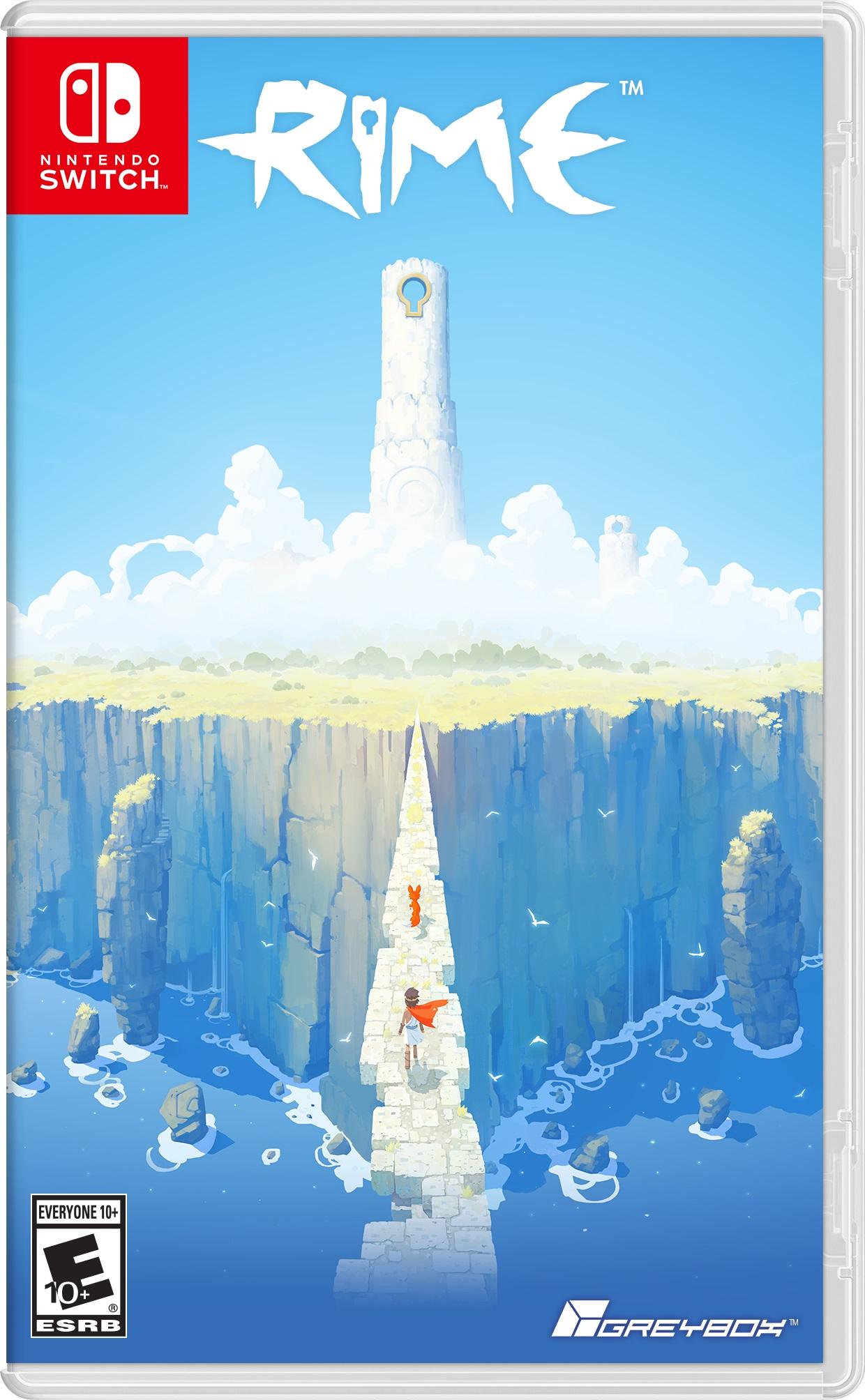 ニンテンドースイッチでも発売する『Rime』の発売日が2017年5月26日に決定! パッケージも公開