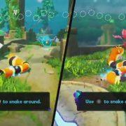 『Snake Pass』のSwitch版とPS4版の比較動画が公開