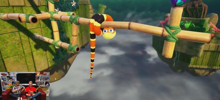 『Snake Pass』の公式プレイ動画が公開