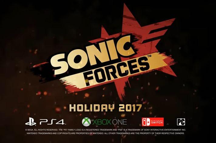 『Sonic Forces』のゲームプレイデモが公開