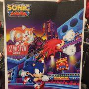 『Sonic Mania (ソニックマニア)』のポスターが公開
