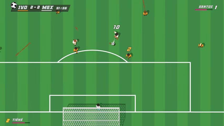 レトロチックなサッカーゲーム『Super Arcade Football』がニンテンドースイッチでリリースされるかも?