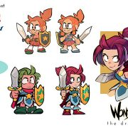 『Wonder Boy: The Dragon's』のWonder Girlトレイラーが公開