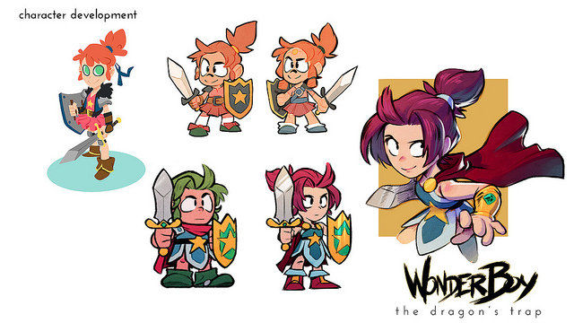 『Wonder Boy: The Dragon's』のWonder Girlトレイラーが公開