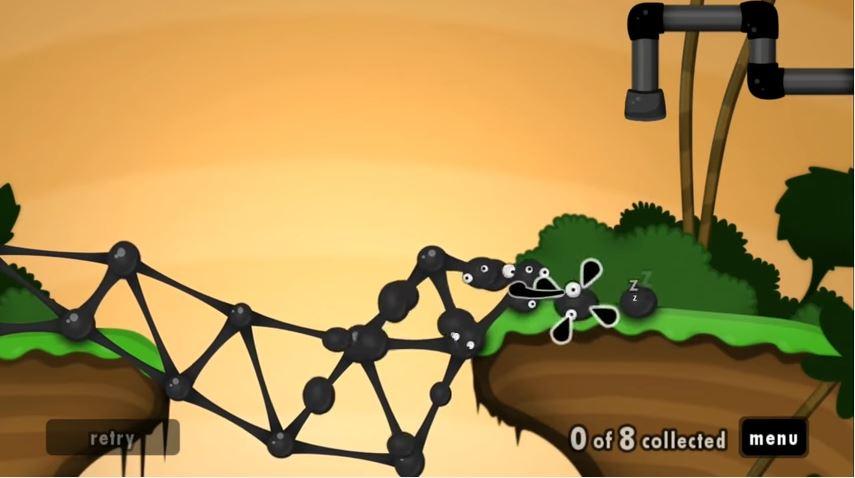 『World of Goo(グーの惑星)』のプレイ動画が公開
