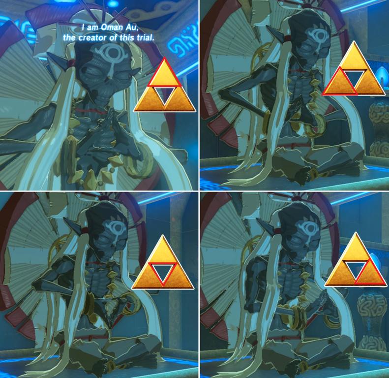 『ゼルダの伝説 BotW』 最初の試練の祠に隠されたメッセージ