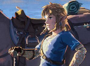 『ゼルダの伝説 ブレス オブ ザ ワイルド』の「さあ、冒険の幕開けだ。」というツイートが公開