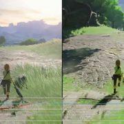 『ゼルダの伝説 ブレス オブ ザ ワイルド』のスイッチ版とWiiU版のフレームレートテスト比較動画が公開
