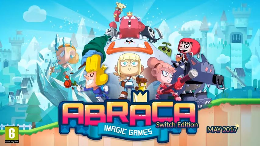 『ABRACA – Imagic Games』が5月にNintendo Switchで発売!