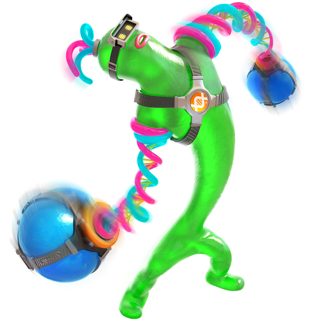 『ARMS』に「DNAマン」の参戦が決定! まるでスライム人間!?