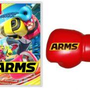 Nintendo UKストアに『ARMS Fan Pack』が登場! グローブ ストレスボール付き!