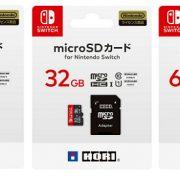 HORIから「microSDカード for Nintendo Switch 64GB」が4月30日に発売決定!