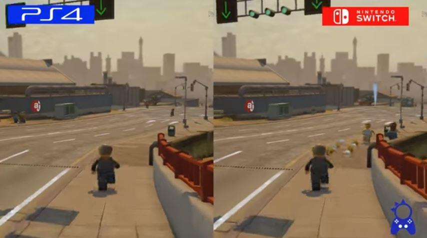 『レゴ シティ アンダーカバー』 PS4版とSwtich版の比較動画が公開。 WiiU版との比較も
