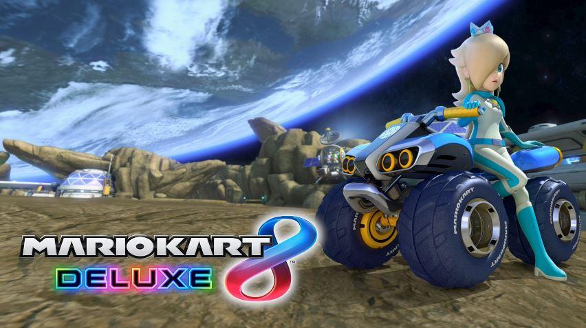 『マリオカート8 デラックス』のイントロ