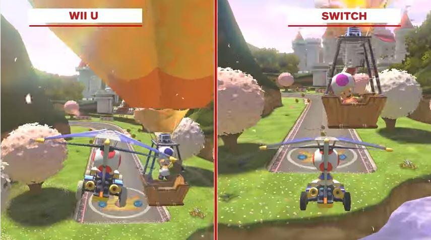 『マリオカート8 デラックス』 Switch版とWiiU版の比較動画