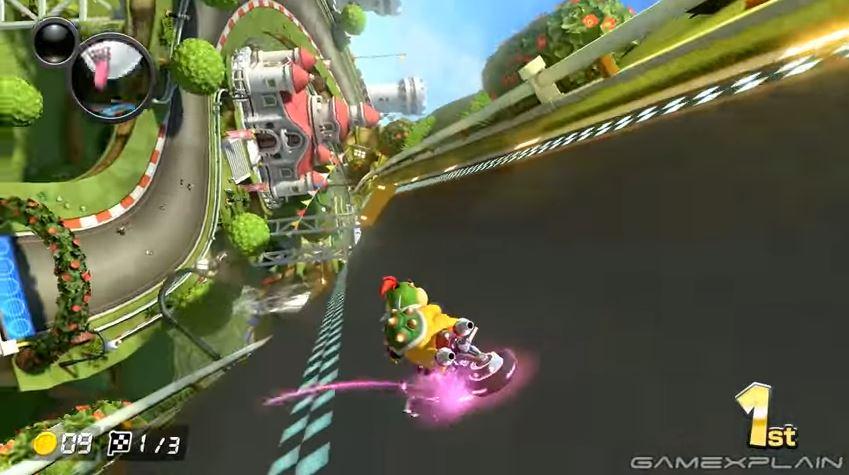 『マリオカート8 デラックス』でウルトラミニターボを使って走ってみた。