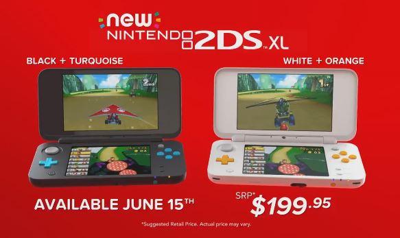 オーストラリアとニュージーランドでは『Newニンテンドー2DS LL』 が6月15日に発売!
